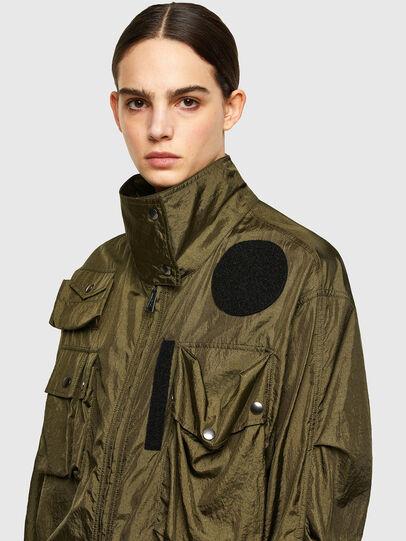 Diesel - C-CORAL, Verde Militare - Camicie - Image 3