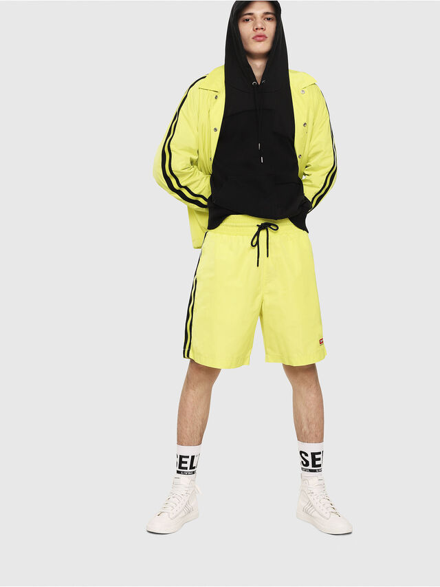 Diesel - P-BOXIE, Giallo Fluo - Shorts - Image 4