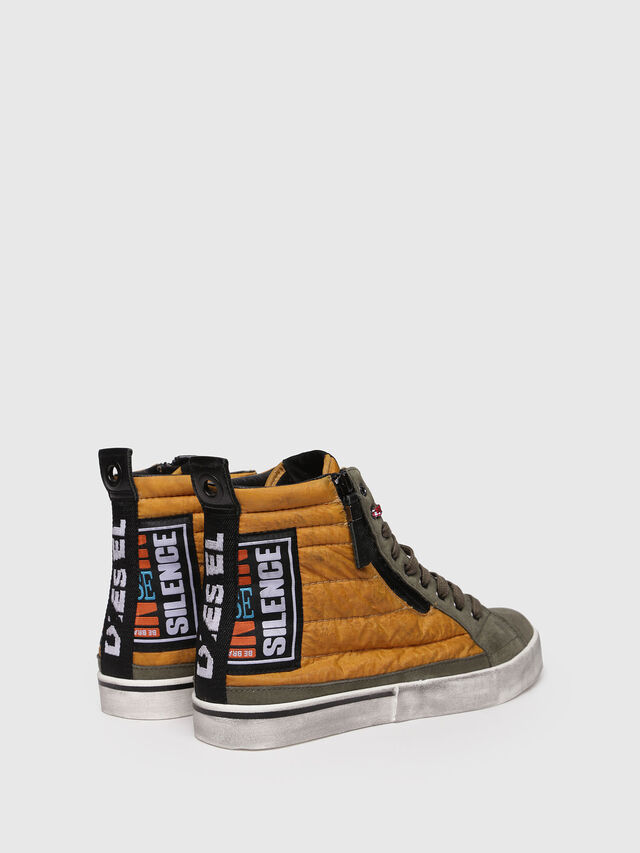 Diesel - D-VELOWS MID PATCH, Giallo - Sneakers - Image 2