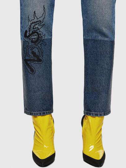 Diesel - D-Eiselle 0078T, Blu Chiaro - Jeans - Image 5