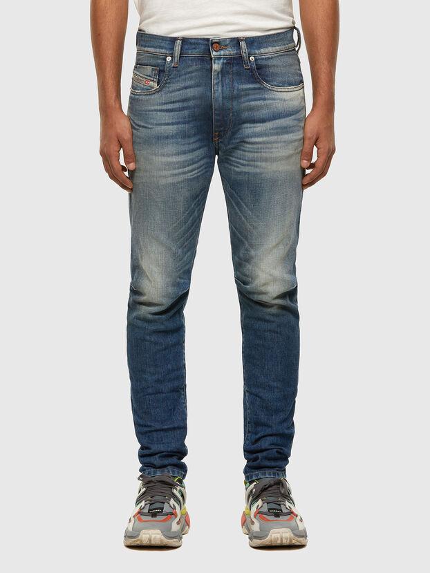 D-Strukt 009HH, Blu medio - Jeans