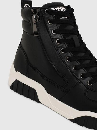 Diesel - S-RUA MID, Nero - Sneakers - Image 4