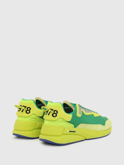 Diesel - S-SERENDIPITY LC, Giallo/Verde - Sneakers - Image 3
