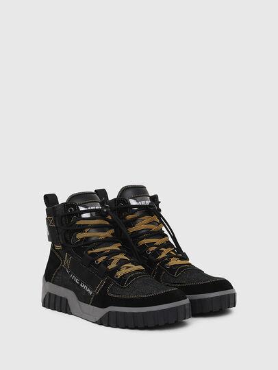 Diesel - S-RUA MID SP, Nero - Sneakers - Image 2