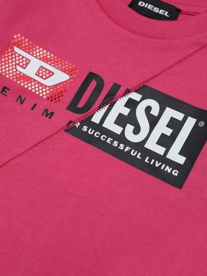 Diesel - TDIEGOCUTYB-FL ML, Rosa - T-shirts e Tops - Image 3