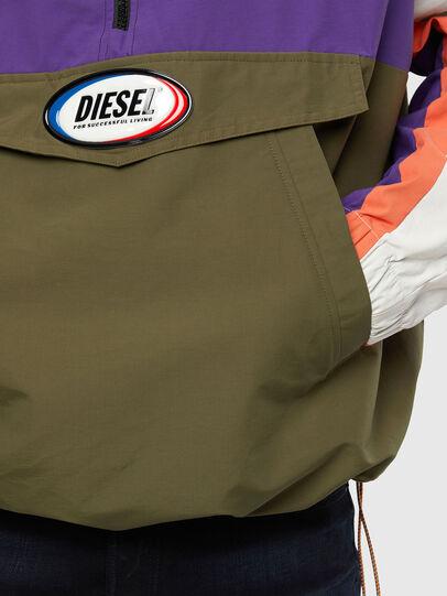 Diesel - J-SHAUN, Viola/Verde - Giacche - Image 4