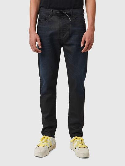Diesel - D-VIDER JoggJeans® 069XN, Nero/Grigio scuro - Jeans - Image 1