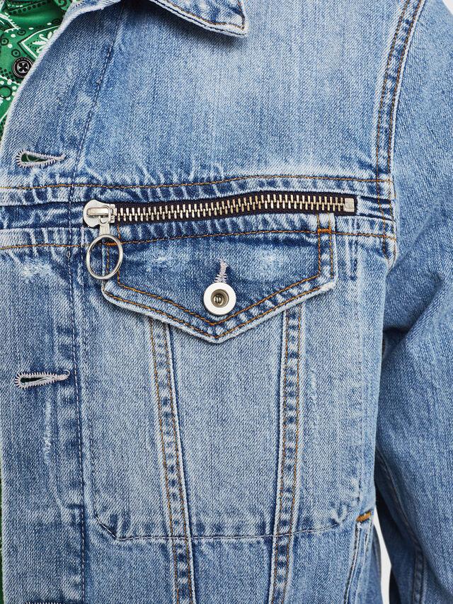 Diesel - D-ROY, Blu Jeans - Giacche in denim - Image 3