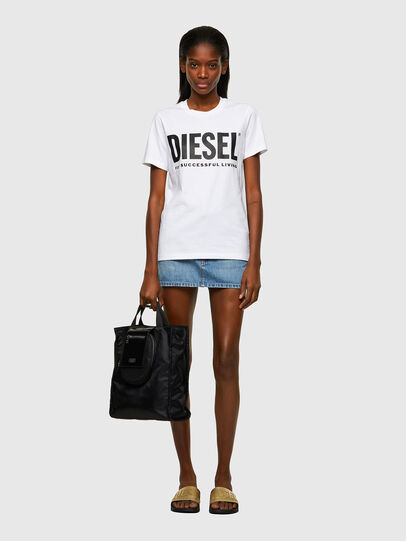 Diesel - T-SILY-ECOLOGO, Bianco - T-Shirts - Image 4
