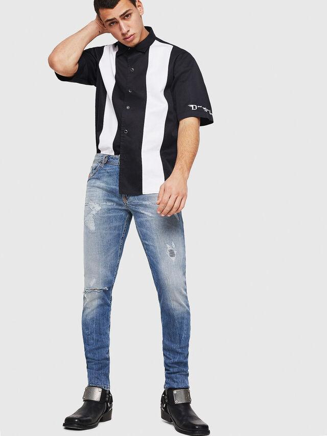 Diesel - Thommer 0090M, Blu Chiaro - Jeans - Image 5