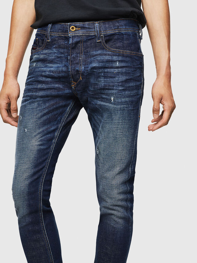 Diesel - Tepphar 087AT, Blu Scuro - Jeans - Image 3