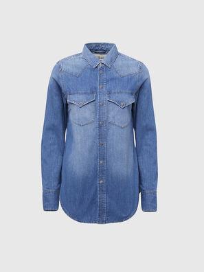 DE-RINGY, Blu Chiaro - Camicie in Denim