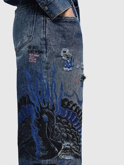 Diesel - Widee 0092Z, Blu medio - Jeans - Image 6