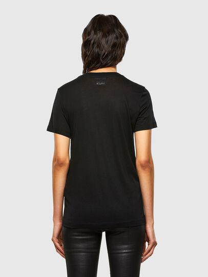 Diesel - T-SILY-V26, Nero - T-Shirts - Image 2