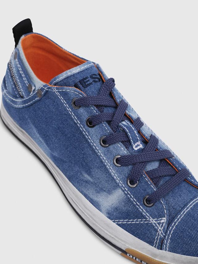 Diesel - EXPOSURE LOW I, Blu Jeans - Sneakers - Image 4