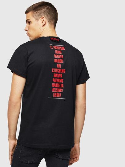 Diesel - LCP-T-DIEGO-CASA, Nero - T-Shirts - Image 3