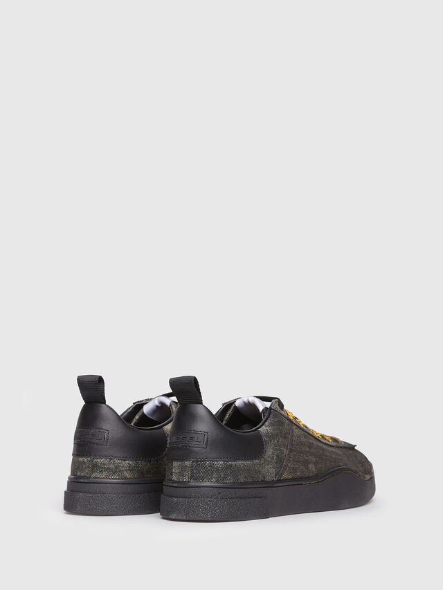 Diesel - S-CLEVER LOW, Antracite - Sneakers - Image 3
