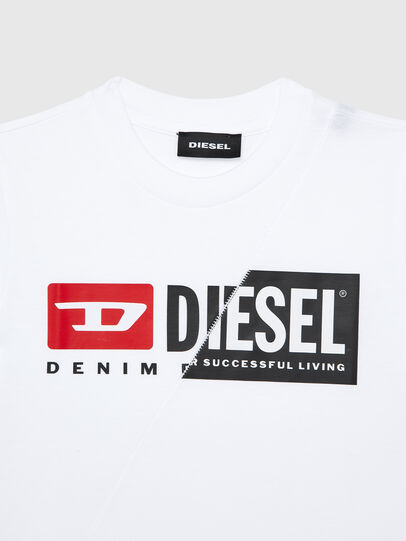 Diesel - TDIEGOCUTYB-R, Bianco - T-shirts e Tops - Image 3