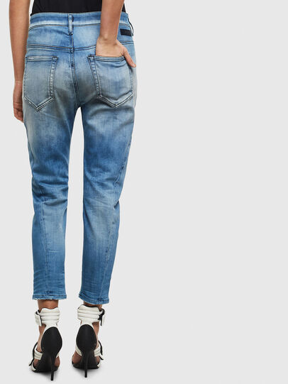 Diesel - Fayza JoggJeans 0099Q, Blu medio - Jeans - Image 2