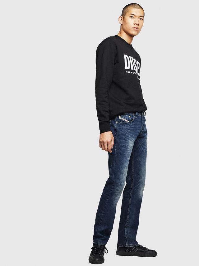 Diesel - Larkee 0853R, Blu Scuro - Jeans - Image 5