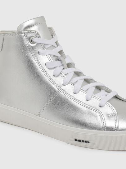 Diesel - S-MYDORI MC W, Argento - Sneakers - Image 4