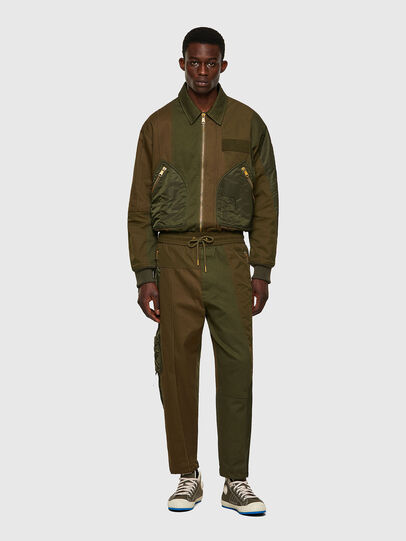 Diesel - P-BRIGGS, Verde Militare - Pantaloni - Image 6