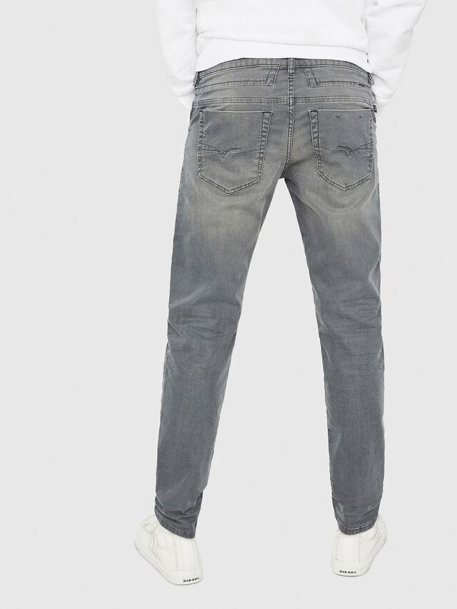 Diesel - D-Bazer 0699P, Grigio Jeans - Jeans - Image 2