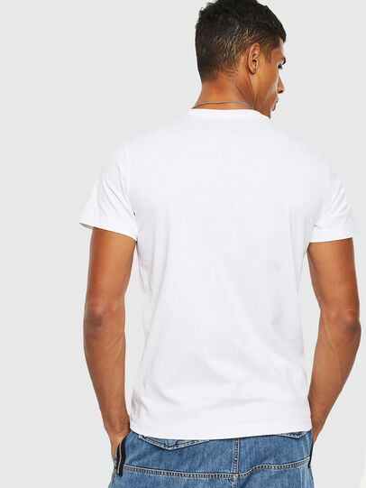 Diesel - T-DIEGO-S13, Bianco - T-Shirts - Image 2