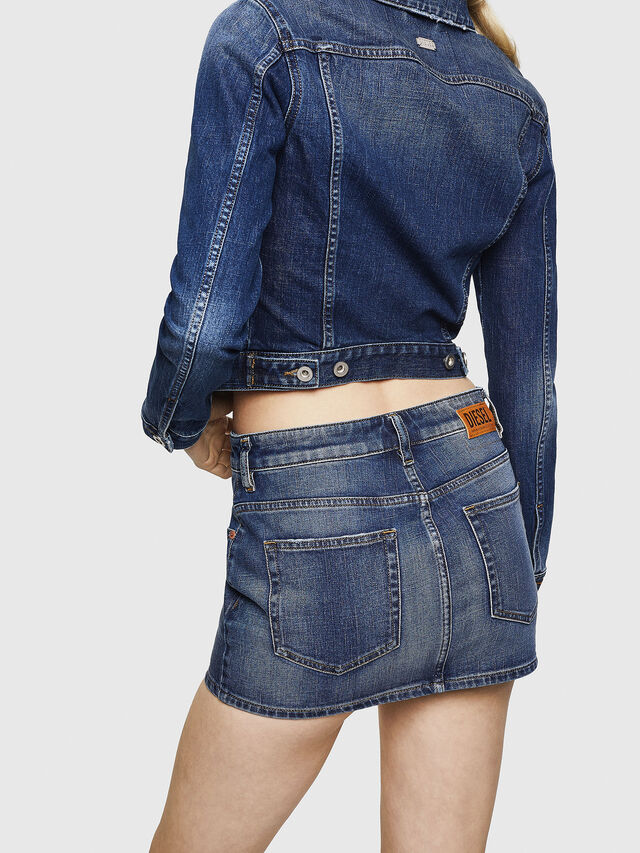 Diesel - DE-EISY, Blu Jeans - Gonne - Image 2