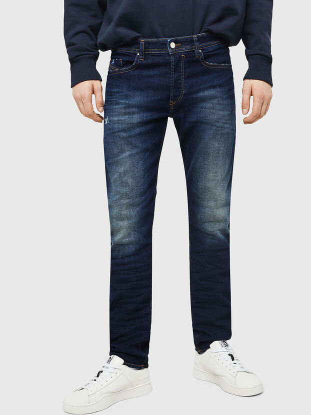 Buster 069BM, Blu Scuro - Jeans