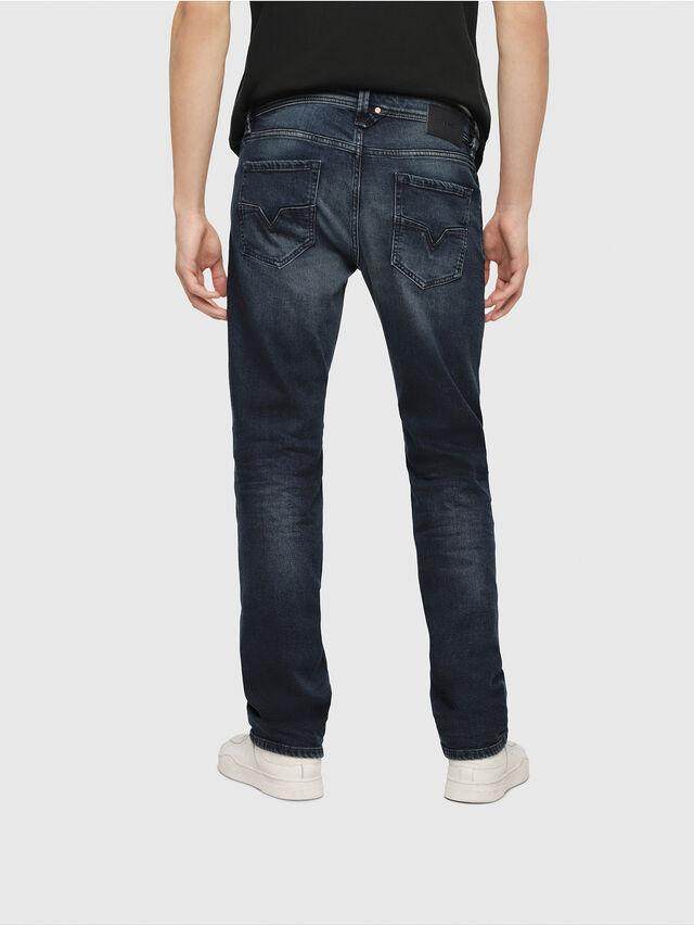 Diesel - Larkee 087AS, Blu Scuro - Jeans - Image 2