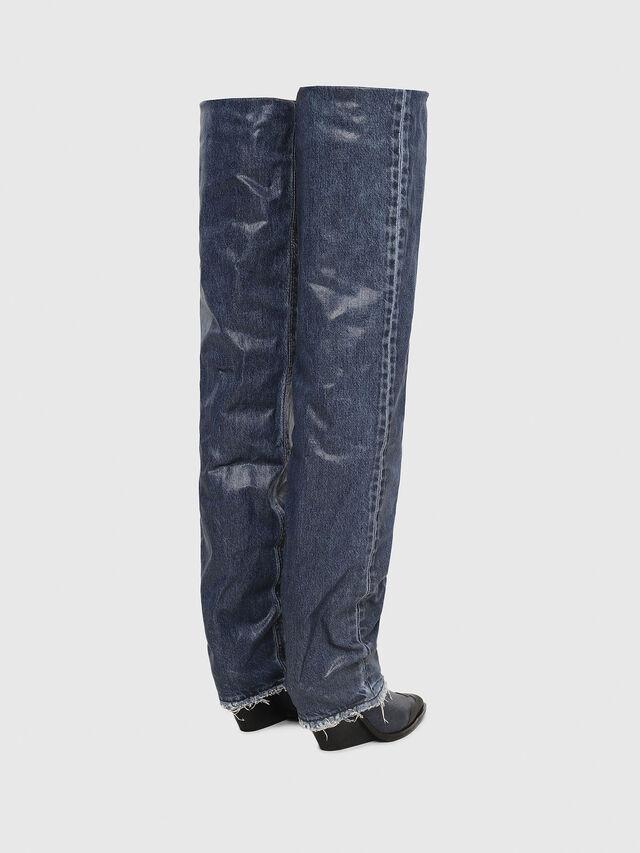 Diesel - D-WEST OTK, Blu Jeans - Stivali - Image 3