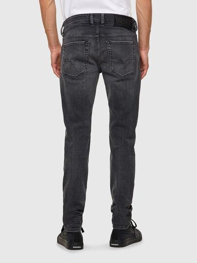 Diesel - Sleenker 09A18, Nero/Grigio scuro - Jeans - Image 2
