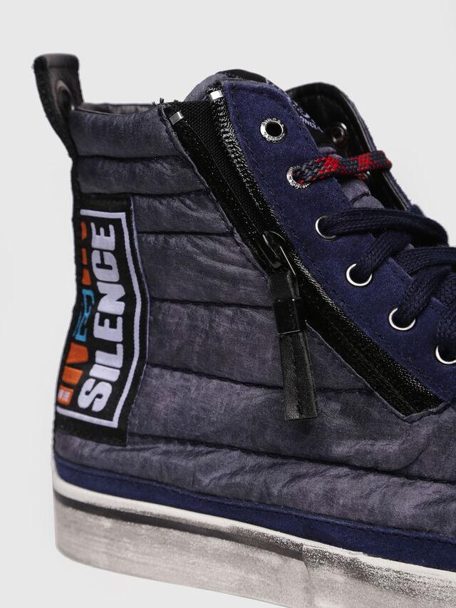 Diesel - D-VELOWS MID PATCH, Blu Scuro - Sneakers - Image 4