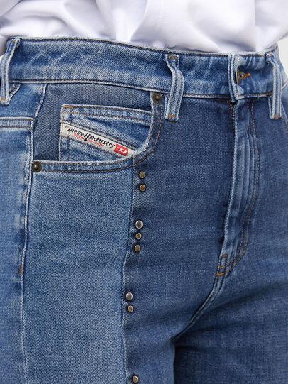 Diesel - D-Eiselle JoggJeans 009KP, Blu Chiaro - Jeans - Image 4