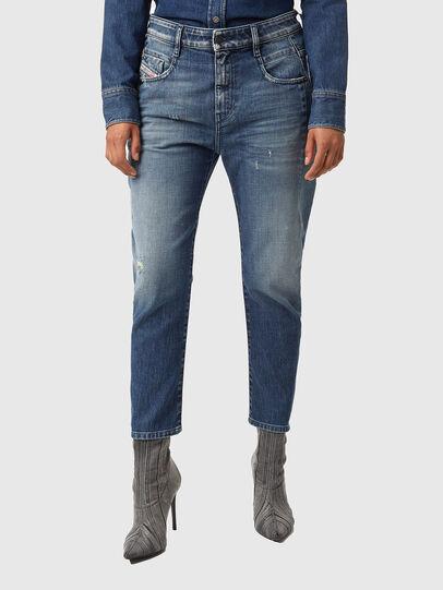 Diesel - Fayza 09A54, Blu medio - Jeans - Image 1