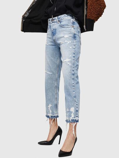 Diesel - Aryel 0078L, Blu Chiaro - Jeans - Image 3