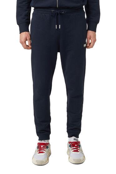 Pantaloni tuta con logo in gomma