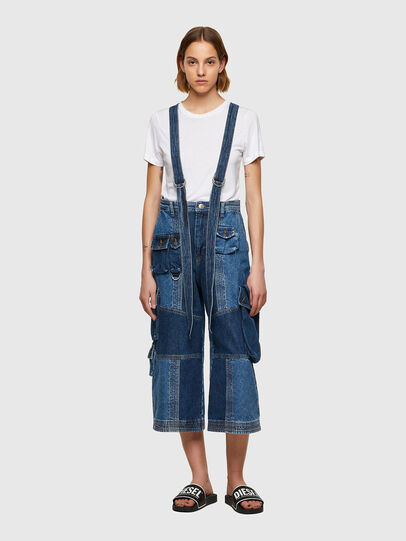Diesel - DE-AMETHY, Blu medio - Pantaloni - Image 1