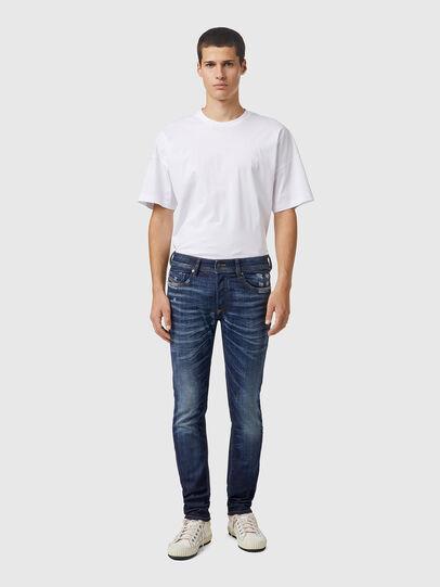 Diesel - Sleenker 09A85, Blu Scuro - Jeans - Image 5