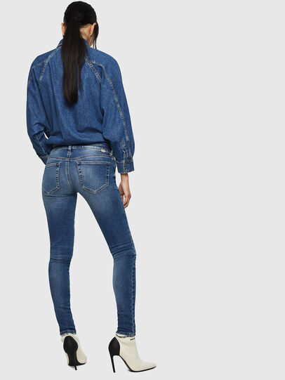 Diesel - Slandy Low 083AN, Blu medio - Jeans - Image 2