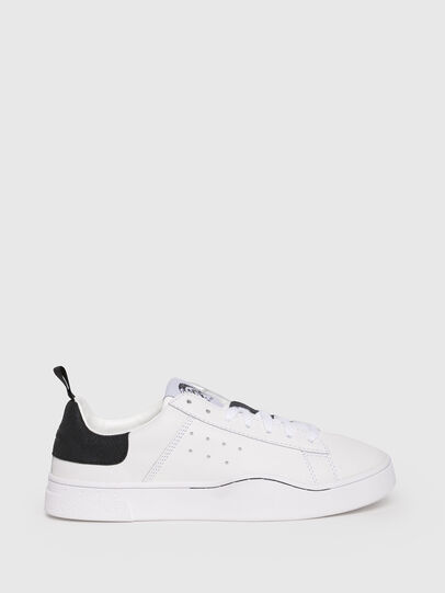 Diesel - S-CLEVER LOW W, Bianco/Nero - Sneakers - Image 1
