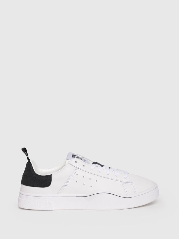 S-CLEVER LOW W, Bianco/Nero - Sneakers