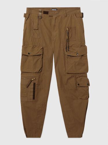 Pantaloni cargo in tela