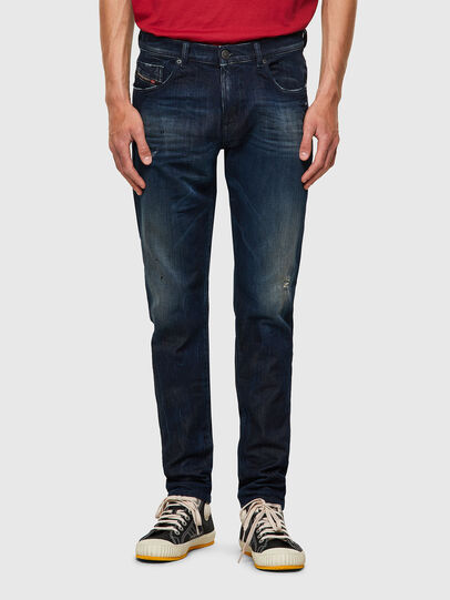 Diesel - D-Strukt JoggJeans® 09B50, Blu Scuro - Jeans - Image 1