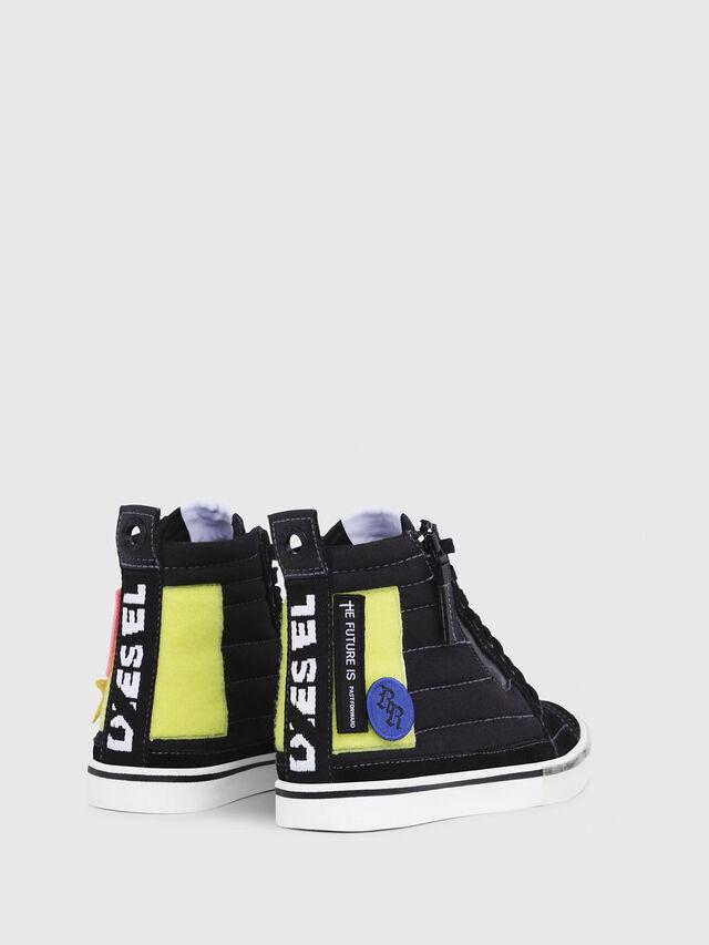 Diesel - D-VELOWS MID PATCH W, Nero - Sneakers - Image 3