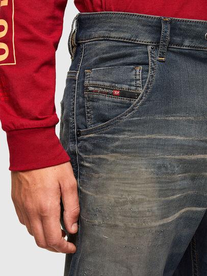Diesel - Krooley JoggJeans 069QE, Blu Scuro - Jeans - Image 3