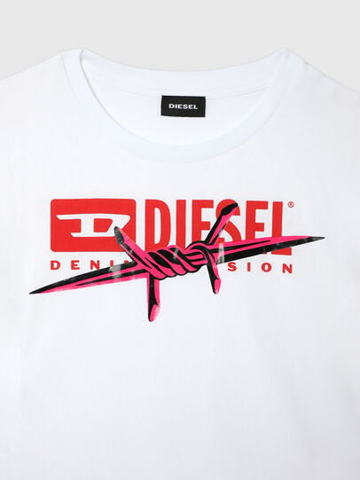 Diesel - TLISA, Bianco - T-shirts e Tops - Image 3