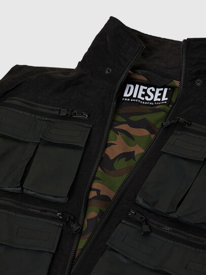 Diesel - J-AKKAD, Nero - Giacche - Image 7