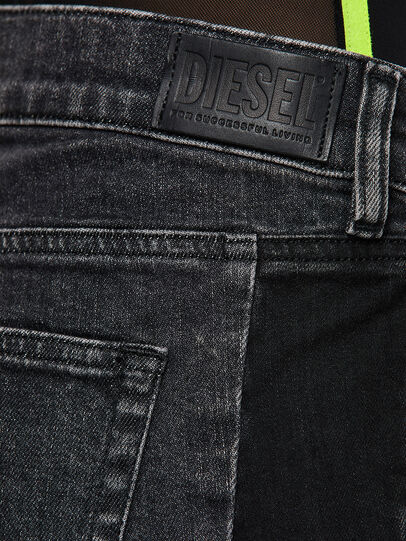 Diesel - D-Ebbey 009IM, Nero/Grigio scuro - Jeans - Image 4